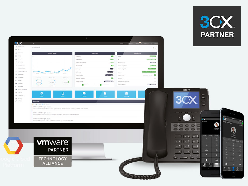 VoIP Telefonanlage für Windows, Android und Mac in der Cloud