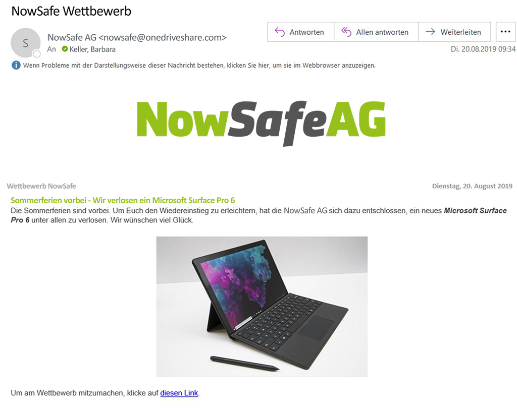 IT Security Kampagne gegen Phishing