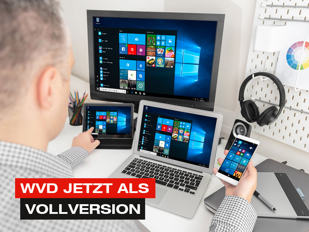 Windows Virtual Desktop (WVD) jetzt als Vollversion
